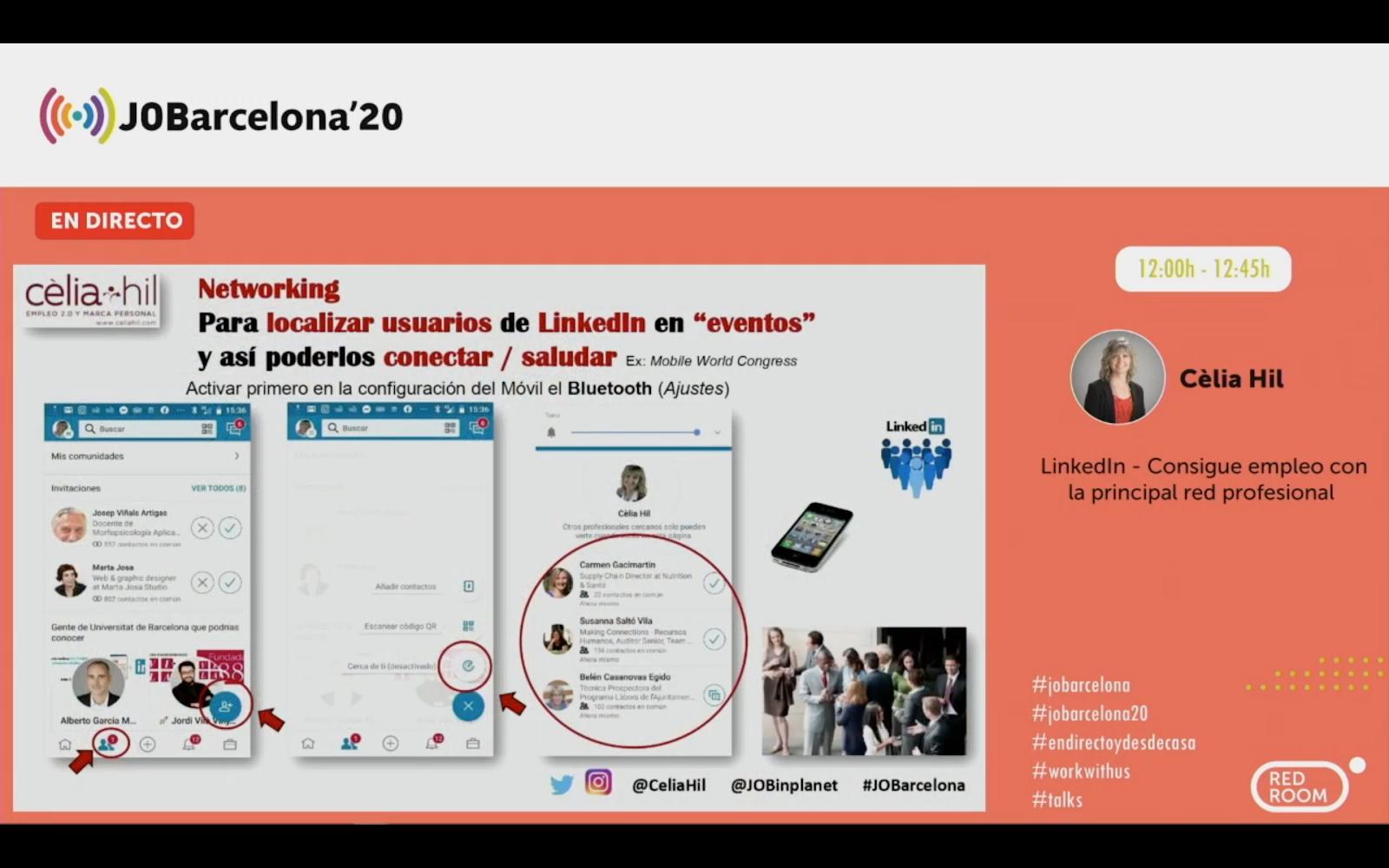 Linkedin - Consigue empleo con la principal red profesional