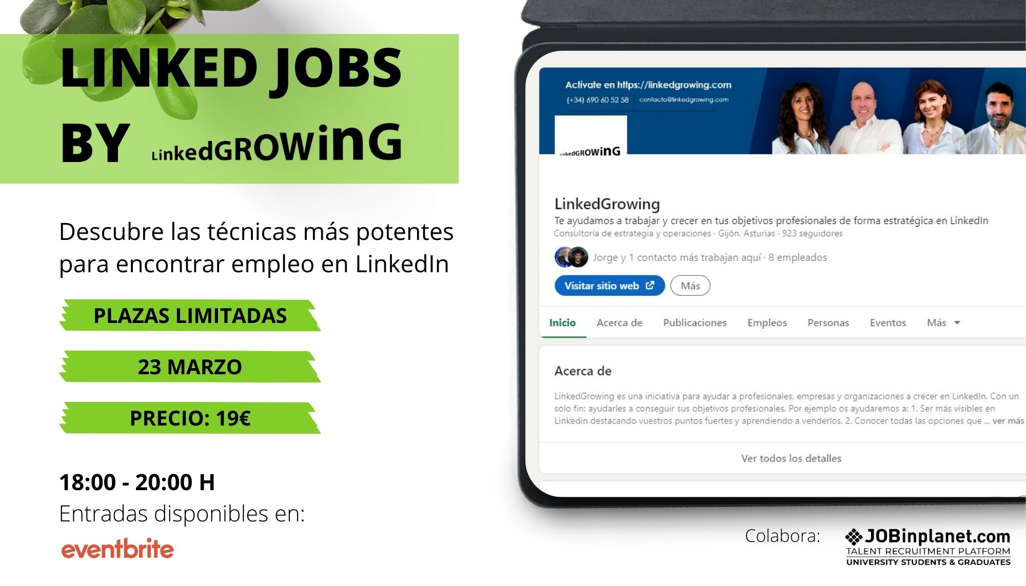 Linked JOBS by LinkedGrowing