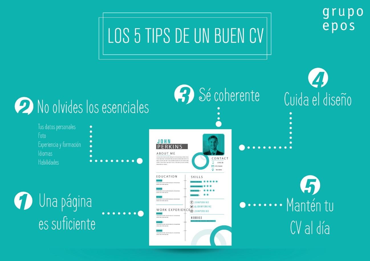 5 tips para tener un CV brillante